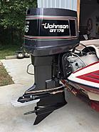 1989 Johnson GT 175 --Great shape visually and mechanically