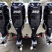2016 TWIN MERCURY VERADO 350s FOR SALE