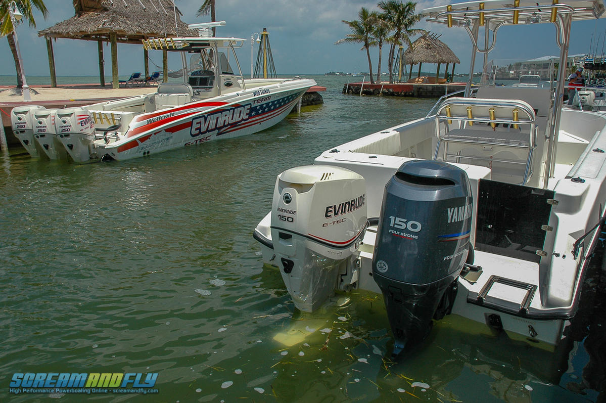 Scream And Fly Magazine - The Genesis of the Evinrude E-TEC Outboard