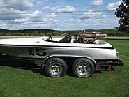 1973 18' Mandella Long Deck Flat Bottom V Drive